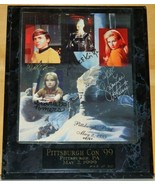Star Trek Chekov Borg Queen Yeoman Rand Naomi Wildman Autographed Photo ... - $203.17