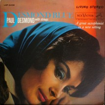 PAUL DESMOND /  DESMOND BLUE VG+/VG+ [01-0210] LP record - $27.91