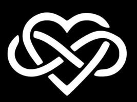 Heart Infinity Symbol Vinyl Decal Car Wall Window Sticker Choose Size Color - $2.60+