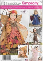 """Simplicity Doll Clothes Pattern #1134-18"""" Doll Clothes - $6.76"""