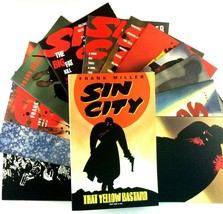 Sin City 13 Comic Lot Dark Horse That Yellow Bastard 1-6 The Big Fat Kil... - $49.45