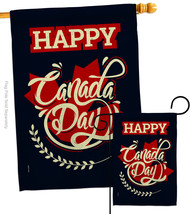 Happy Anniversary Canada - Impressions Decorative Flags Set S192251-BO - $57.97