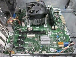 HP IPM87-MP Motherboard Core i3-4130 3.4GHz 8GB 0HDD Boots - $63.00