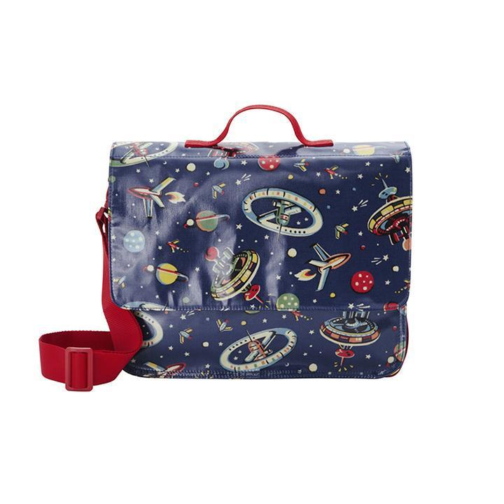 Cath Kidston Cath Kidston100Authentic KIDS SCHOOL SATCHEL SPACE LARGE NAVY CK-KG