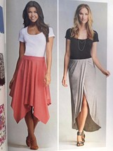 Simplicity Sewing Pattern 1201 Ladies Misses Skirt Pull-on Size 14-22 New - $16.60