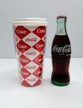 Coca-Cola 20oz Checkered Travel Mug - BRAND NEW - $8.66