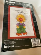 New Vintage Janlynn Suzy's Zoo Duck Got to Be Me 38-60 Cross Stitch Fram... - $7.51