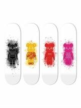 Bundle: Sup Black & Camo Orange & Sup Red & Diamonds Pink Toy Figure Ska... - $378.18