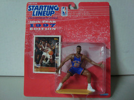 1997 Starting Lineup NBA Series 10 NY Knicks Allan Houston Action Figure... - £5.82 GBP