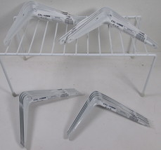 "16 Cal Hawk Tools 6"" x 8 Shelf Brackets - White - $15.19"