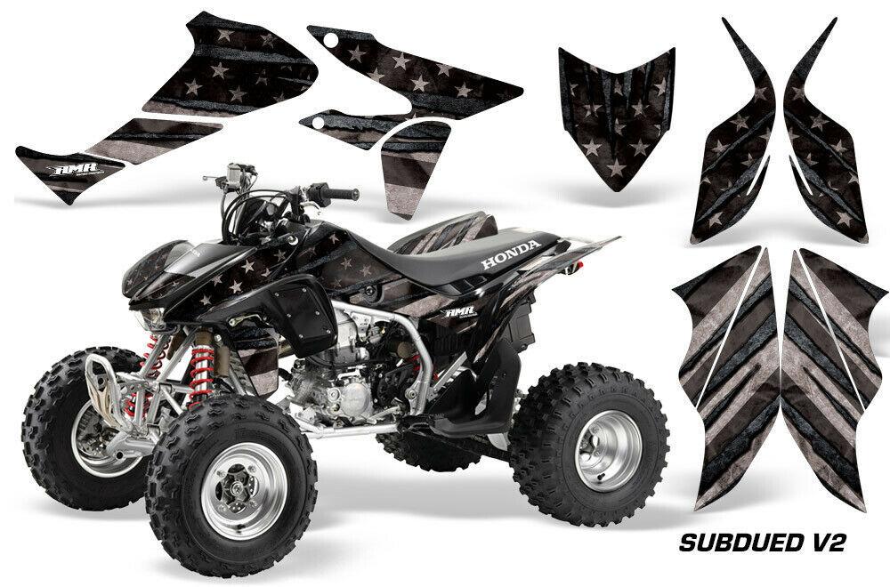 ATV Graphics kit Sticker Decal for Honda TRX450ER 2004-2012 Subdued Flag - $169.95