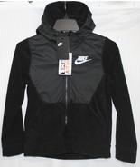 Nike Big Kids' (Boys') Full-Zip Hoodie Jacket. Black, AA0064-010 - $49.93