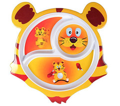 TIGER PLATE & SIPPY CUP SET - $10.95