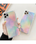 Square Phone Case For IPhone 11 Pro Max XR XS Max 7 8 6 6s Plus X Soft P... - $3.36+