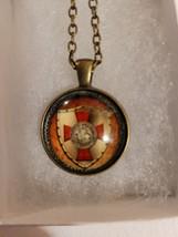 Knights Templar Christian Cross Necklace  - $10.99