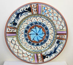 Bellagio by Tabletops Unlimited Dinner Plate Hand Painted 11.25 Inch - $22.77