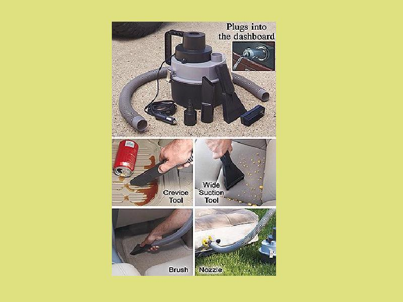 Portable Wet Dry Auto Vacuum Works on Cars Boats and RVs