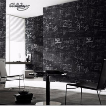 Beibehang modern abstract line black wall paper roll living room wallpaper for w - $99.95