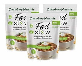 Canterbury Naturals Fast or Slow Easy-Prep Meal Kit, White Chicken Chili, 8oz, P