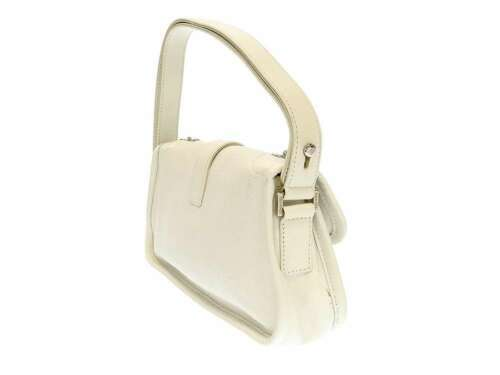 CHANEL Shoulder Bag 2.55 Leather White Semi Shoulder Length Italy Authentic image 2