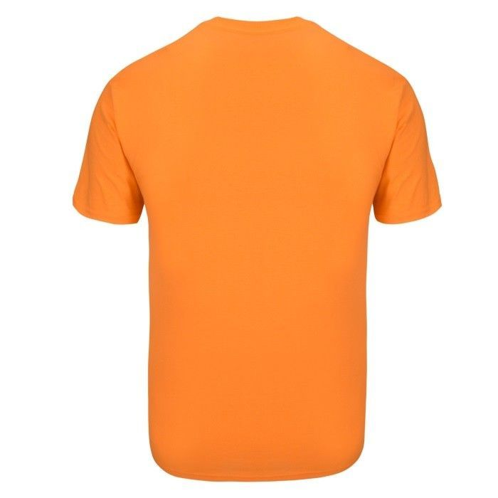 "FIREHORSE ""Muscle Forge Gear"" T-SHIRT Gildan Dri-Blend 50/50  Blend L-Orange"