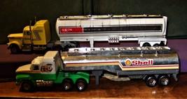 Tanker Trucks - Set of 2 Trucks Shell and Exxon - $9.95