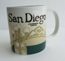 NEW 2010 SAN DIEGO California Starbucks Icon Collector Series Coffee Mug... - $56.09