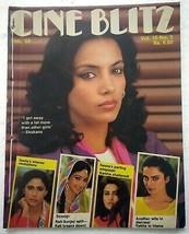 Cineblitz Feb 1984 Shabana Mandakini Rati Smita REKHA Reena Kamal Leena ... - $39.99