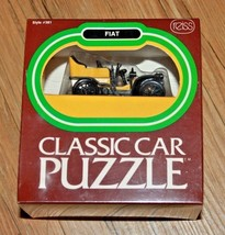 Reiss Fiat Vintage 1976 Classic Car Puzzle #381 New in Box and Sealed  - $18.99