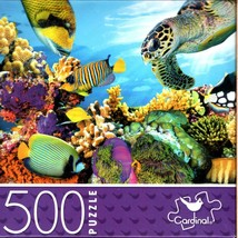 Colorful Coral Reef - 500 Piece Jigsaw Puzzle for Age 14+ - $14.84