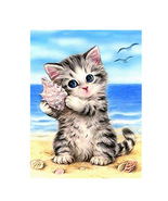 5D DIY Animal Diamond Painting Cat Cross Stitch Kits Diamond Embroidery ... - $8.00+