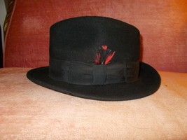 .D/P- DORFMAN PACIFIC HAT BLACK SIZE 6 7/8 - $19.00
