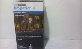 Gemmy Lightshow Blue/White Snow Flurry Snowflake LED Projection Light - $9.00