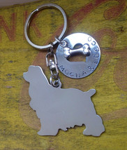 NEW Cocker Spaniel Keychain Dog Lover - $18.00