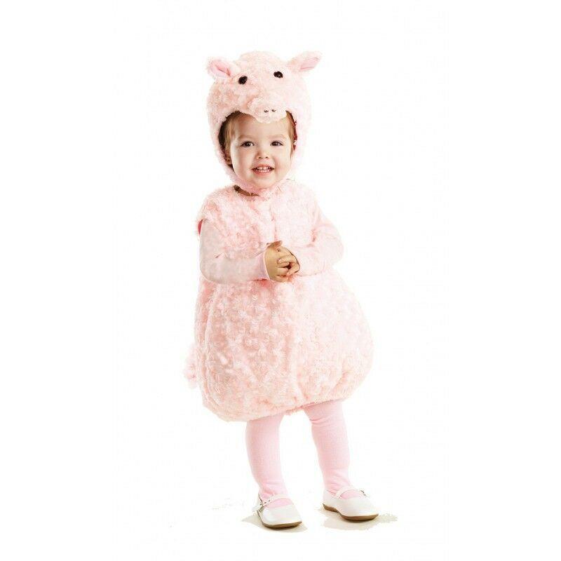 Underwraps Pimpi Maiale Ventre Bambini Animale Dello Zoo Costume Halloween 25966