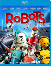 Robots (Blu-Ray/Ws-1.78/Eng-Fr-Sp Sub/Re-Pkgd)