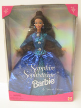 NRFB Barbie Toy R Us Sapphire Sophisticate Barbie GORGEOUS! 16692 - $14.00
