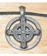 Unity of Male Female Celtic Harmonies Metal Pendant Necklace NEW UNUSED - $7.84