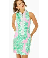 Lilly Pulitzer Alexa Mandevilla Baby Who Let The Fronds Out Stretch Shift Dress - $166.50