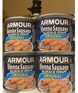 Armour Original Vienna Sausage 4.6 oz Can ( 4 Pack ) - $17.32