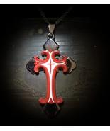 King Solomon Power Of Command Cross Djinn Talisman Spirited Box Powerful Entity - $49.00