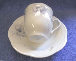 MIKASA PEONY SPLENDOR EJ905 cup and saucer SET - $4.94