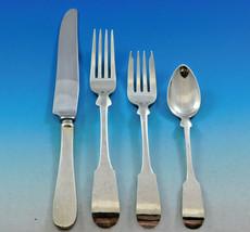 Fiddle by Porter Blanchard Sterling Silver Flatware Set Service Dinner 26 pcs - $3,900.00