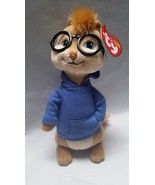 Ty Beanie Babies Simon Alvin Chipmunks Retired Tag Soft Plush Toy Stuffe... - $15.87