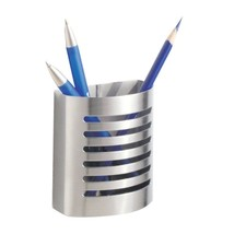 InterDesign Forma Magnetic Pencil Cup, Brushed ... - $15.78