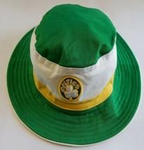 Boston Celtics NBA Hardwood Classics New Era Bucket Hat Size L / XL Gree... - $27.60