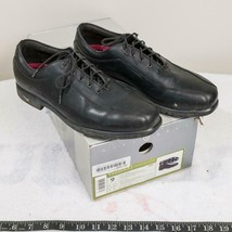 Nike Air Comfort Verdana Last Black Ladies Leather Golf Shoes Size 9 - $39.59