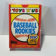 1990 Topps Toys R Us Rookies Baseball Cards Complete Factory Sealed Set   - $27.80