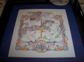 Artiste Cross Stitch Kit~Carousel Fantasy Horse - $30.00