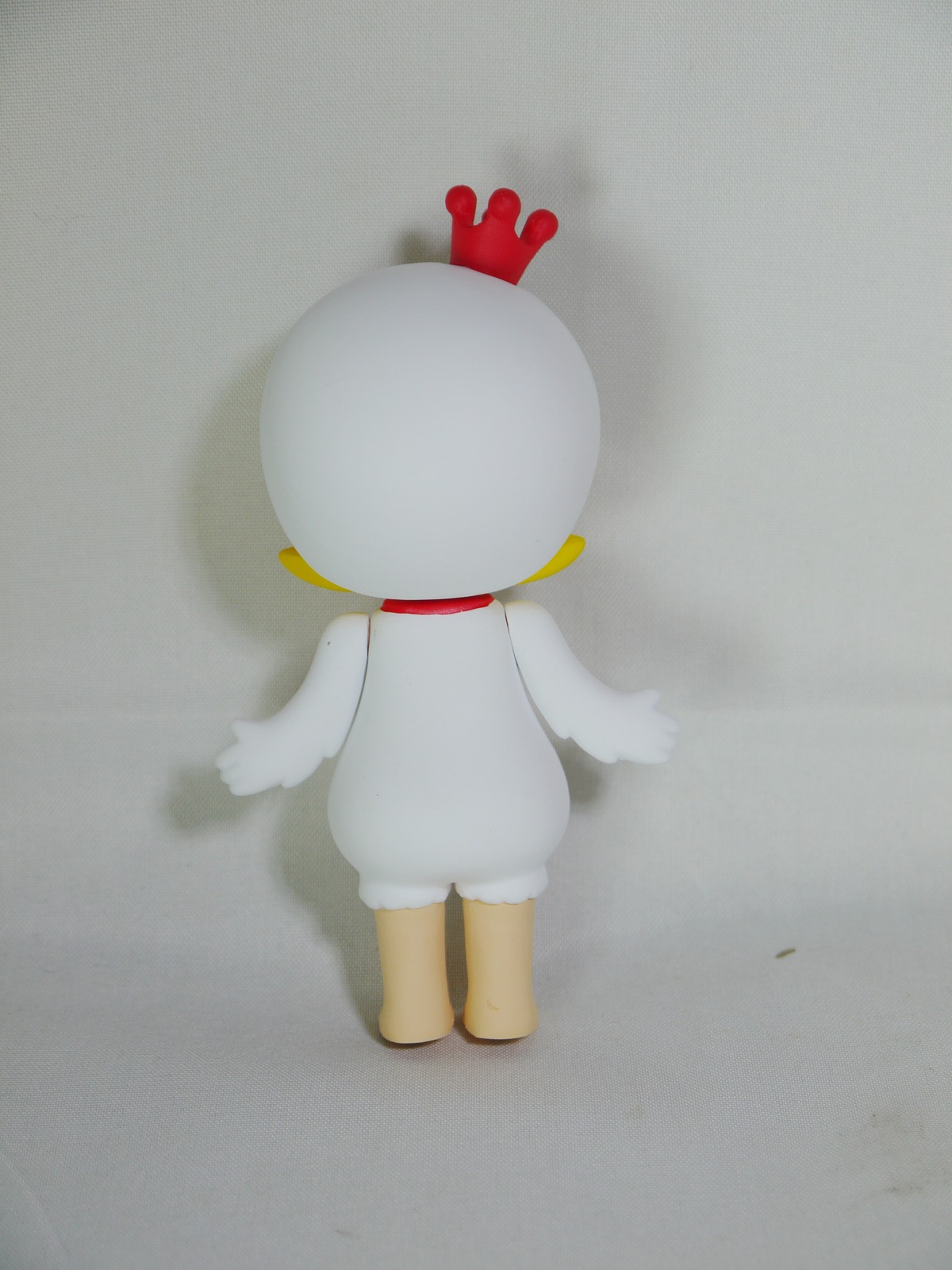 POP MART Kennyswork BLOCK Little Molly Chinese Zodiac Rooster White Minifigure